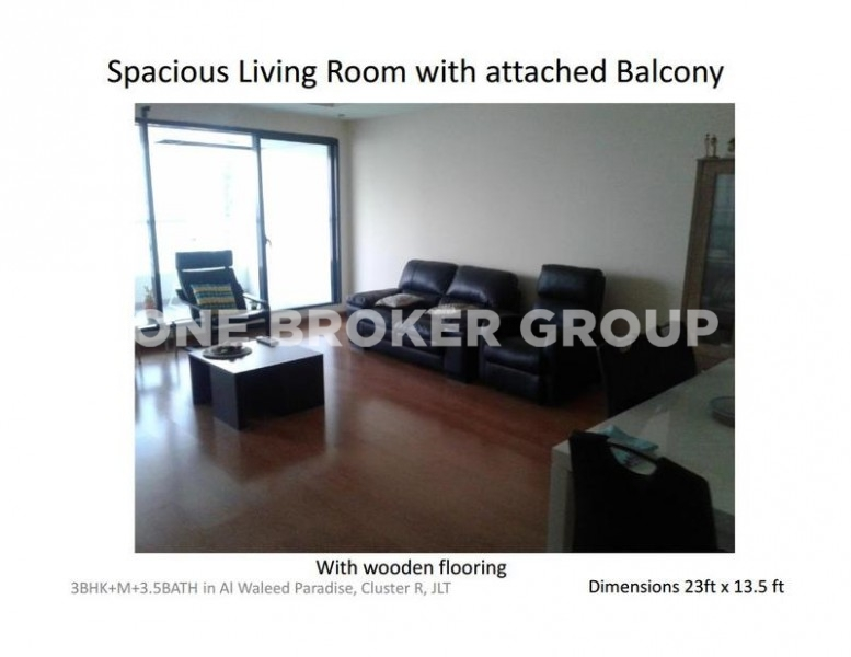 3 BR plus Maids with Lake View Mid Floor