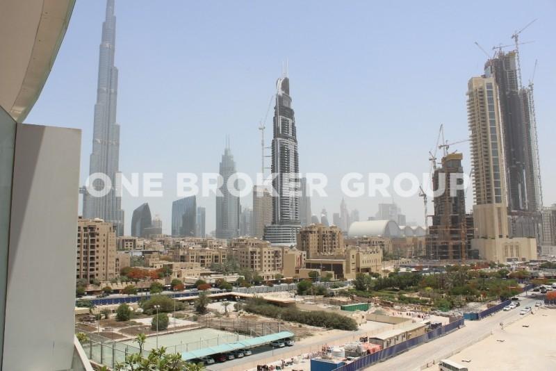 Furnished 1 Bed Apt. Burj Khalifa View