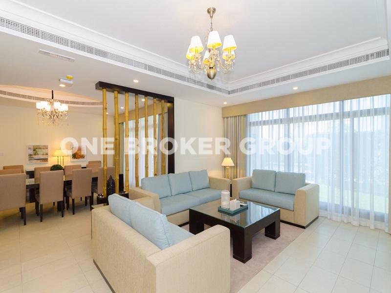 12 Chqs Premium Deluxe 5BR Serviced Villa