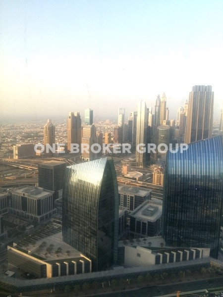 Vacant Studio Apt with Sea and DIFC View