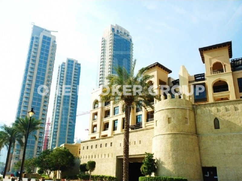 Vacant,1BR Apt with Full Burj Khalifa view