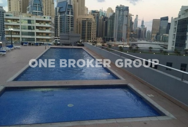 Unfurnished 2 Bed Apt. with Marina View