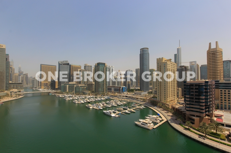 Spectacular Marina view, Fully Furnished