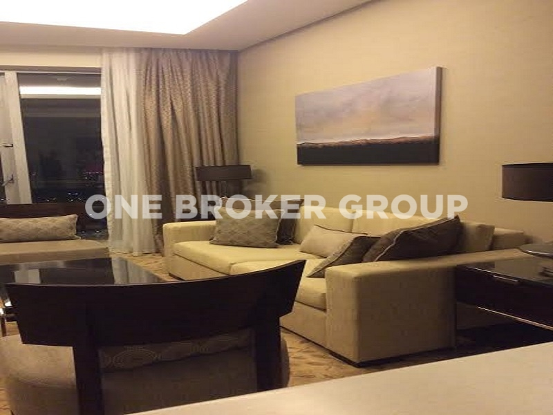 Luxury Hotel Apt, Furnished , High Floor