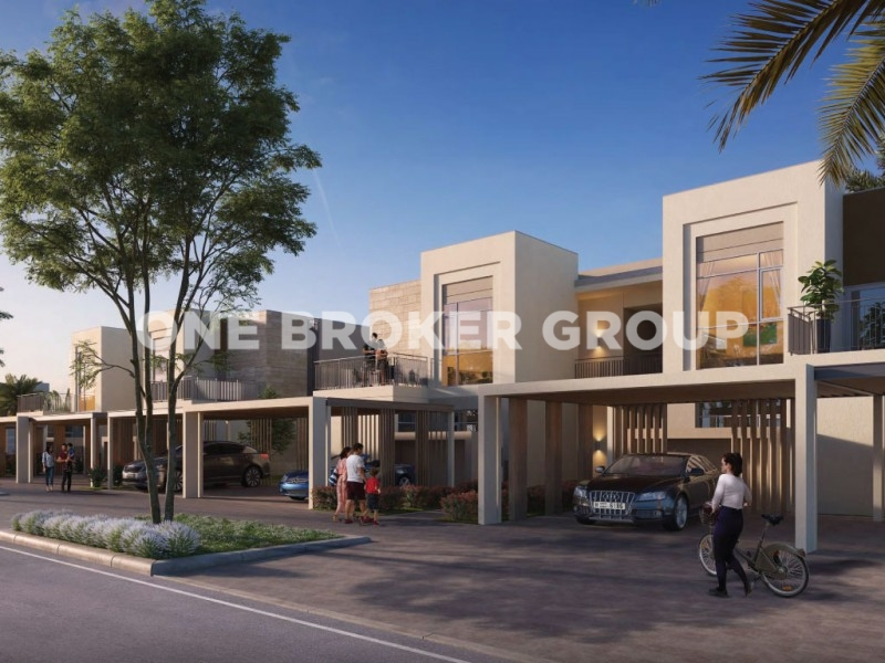 Great investment in Emaar South 3BR End corner townhouse