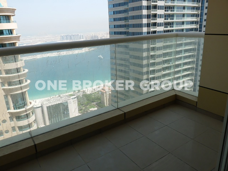 Spacious 2 Bed With 2 Balconies,Sea View