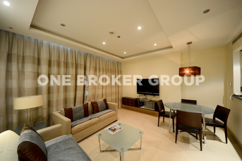 Fully Furnished, 1 Bedroom with Balcony