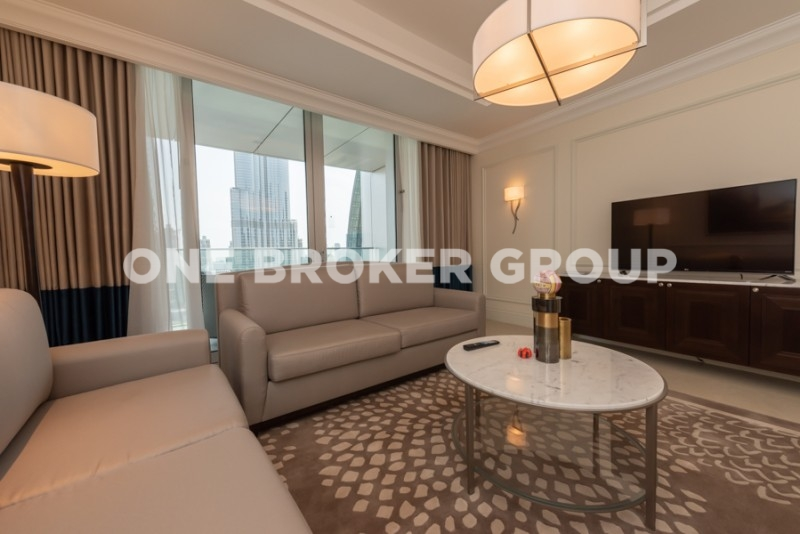 Fully Furnished And Serviced,  2BR, Vacant