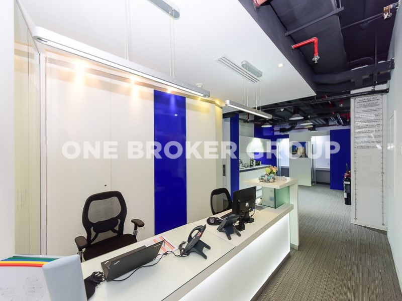 Fully Fitted Office Space At Middle Floor