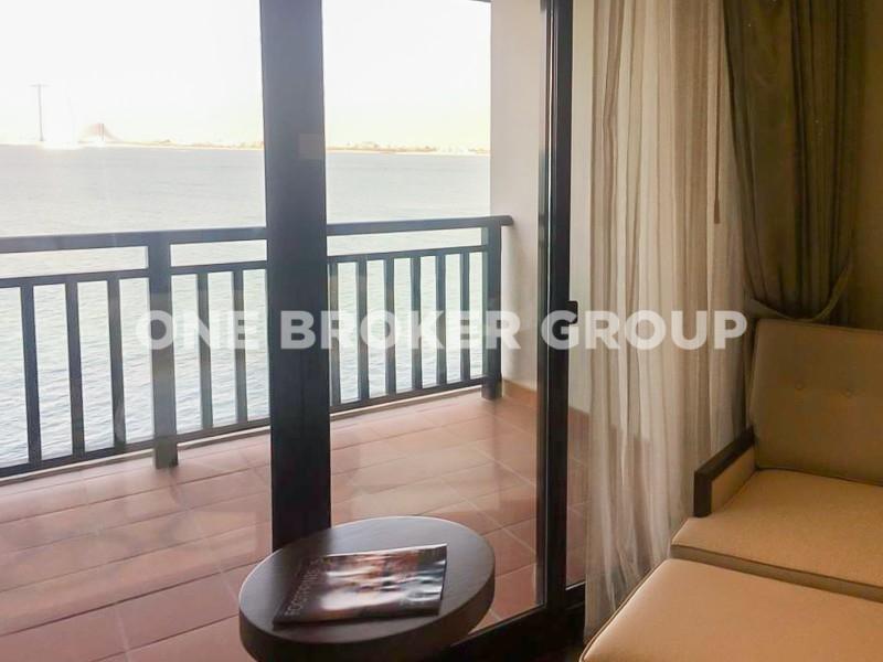 Cheapest Full Sea Burj Al Arab view Palm