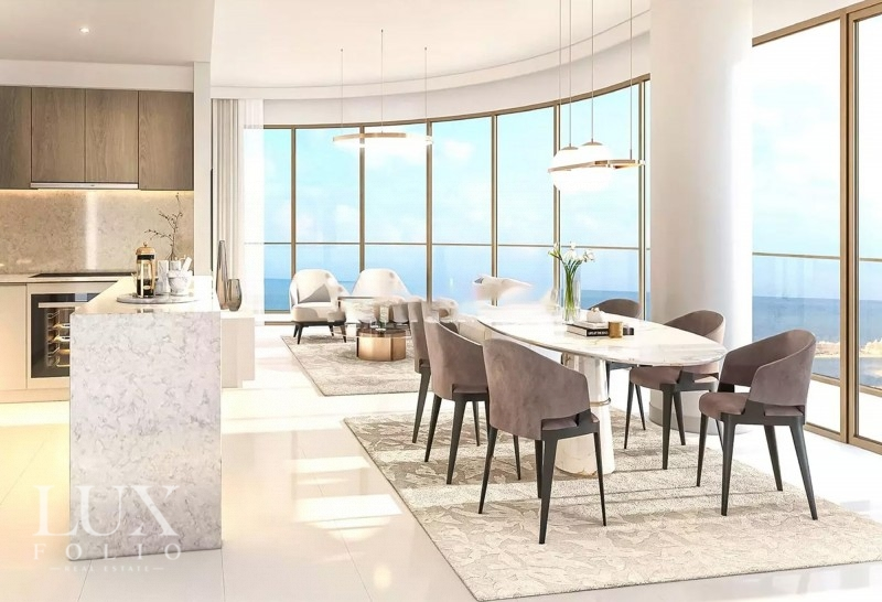 Grand Bleu Tower, EMAAR Beachfront, Dubai image 0
