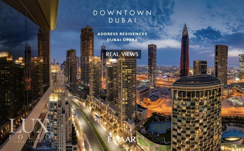 The Address Residences Dubai Opera Tower 2, Downtown Dubai, Dubai image 0