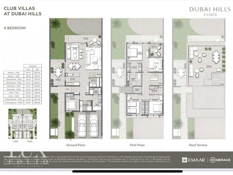 Club Villas, Dubai Hills Estate, Dubai image 14