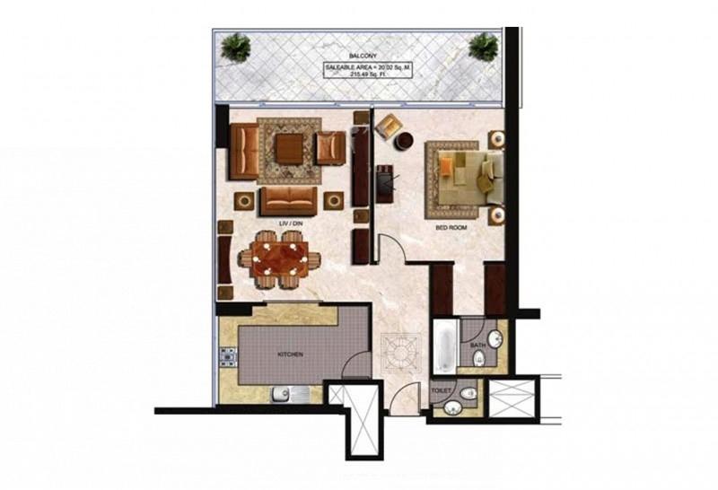 Windsor Manor, Business Bay, Dubai image 27